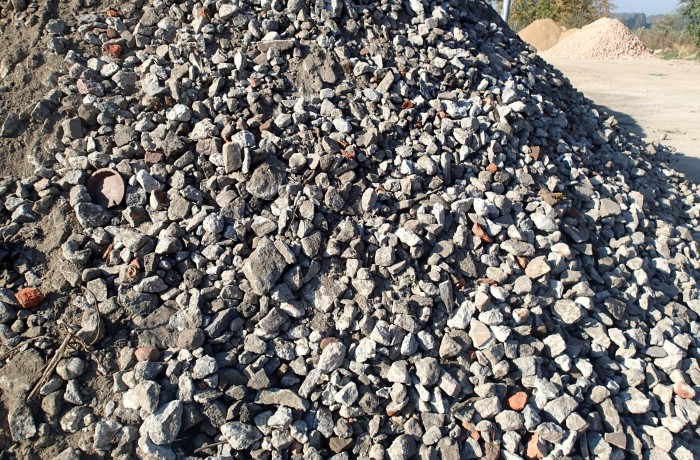 Gruz betonowy jako podbudowa 0-31,5