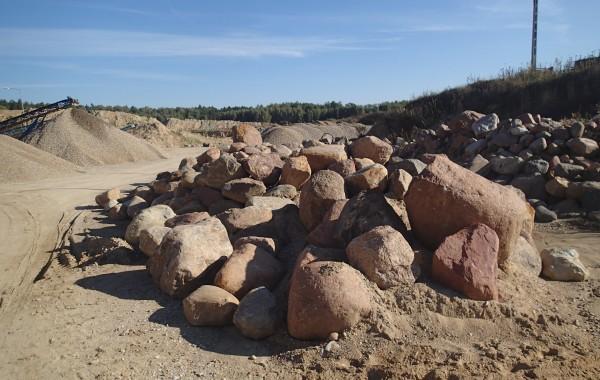 Kamień polny niefrakcyjny